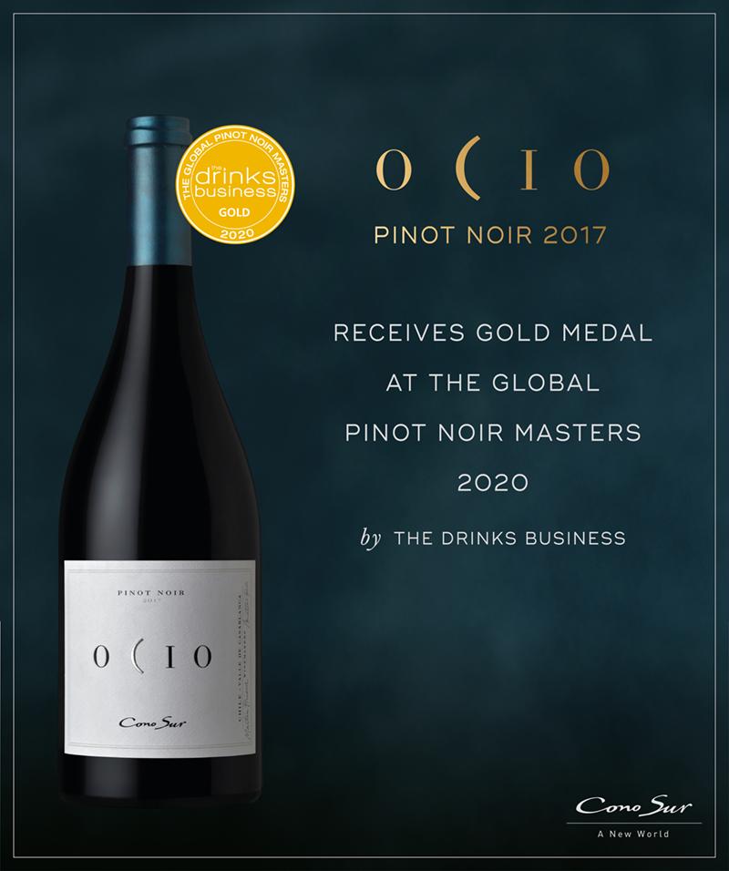 オシオ ピノ・ノワールの2017年ヴィンテージが、グローバル・ピノ・ノワール・マスターズでゴールドメダルを獲得